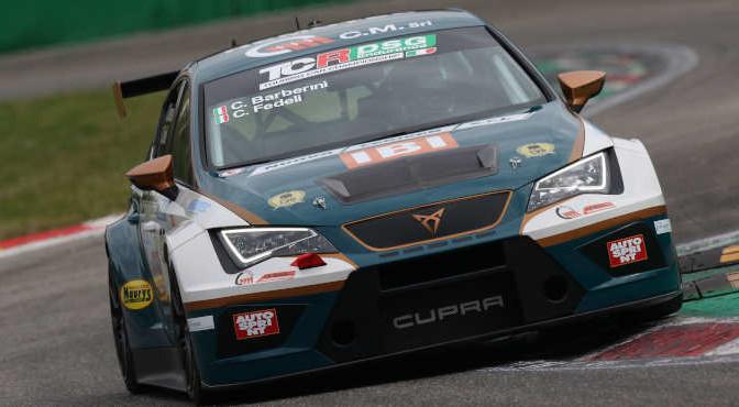 Barberini-Fedeli (Scuderia del Girasole,Cupra TCR DSG #33)