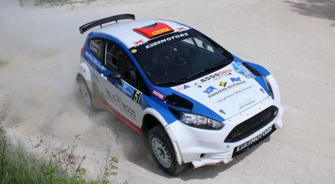 Andrea Dalmazzini, Andrea Albertini (Ford Fiesta R5 #5, XRaceSport)