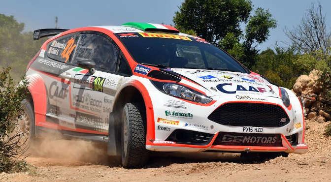 Andrea Dalmazzini, Giacomo Ciucci (Ford Fiesta R5 #104)