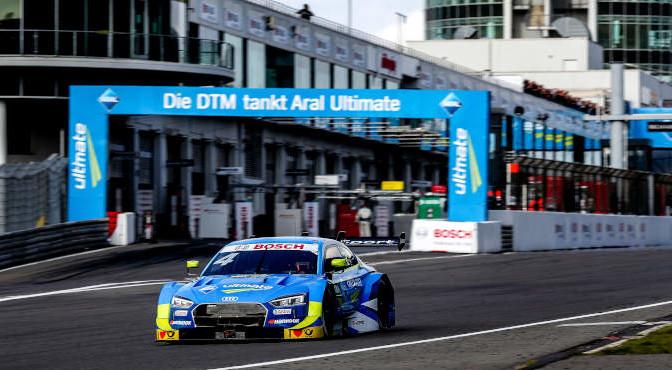 Motorsports: DTM Nuerburgring 2019