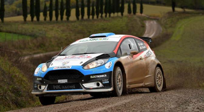 Andrea Aghini, Dario DEsposito (Ford Fiesta R5 #14, X Race Sport)