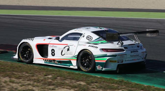 Nicola Baldan (Antonelli Motorsport,Mercedes AMG GT3-GT3 PRO #8)
