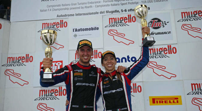 Colombo-Linossi-Zampieri (Antonelli Motorsport,Mercedes AMG GT3 PRO-AM #21)