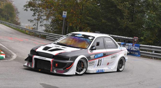 Mauro Soretti (Leonessa Corse, Subaru Impreza #41)