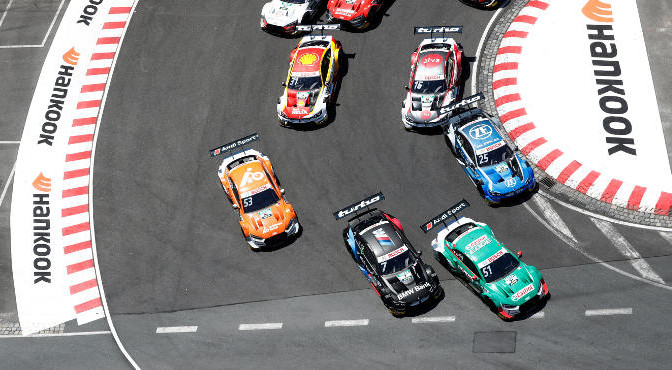 Nürnberg: DTM Norisring 2019 on July, 6, 2019, (Photo by Hoch Zwei)