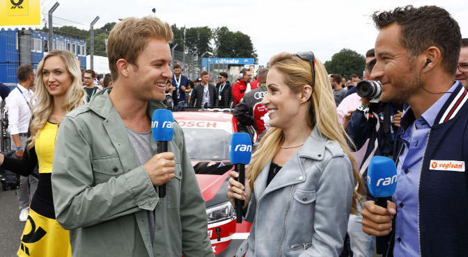 Nico Rosberg, Andrea Kaiser, Timo Scheider