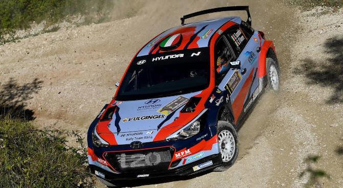 Umberto Scandola, Guido DAmore (Hyundai i20 R5 #1, Movisport)