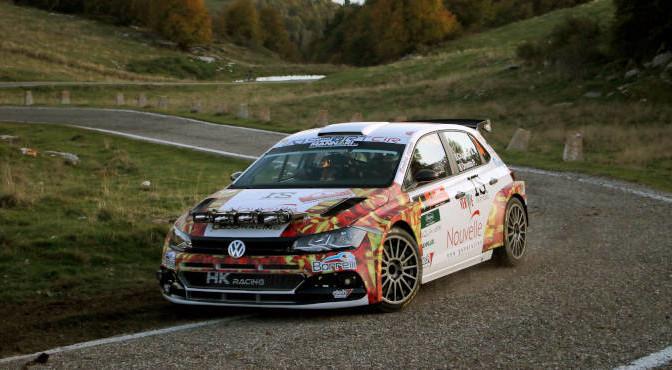 Andrea Crugnola, Pietro Ometto (VW Polo R5 #4, Gass Racing)