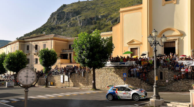 Paolo Andreucci, David Castiglioni (Peugeot 208 T16 #20, FPF Spo
