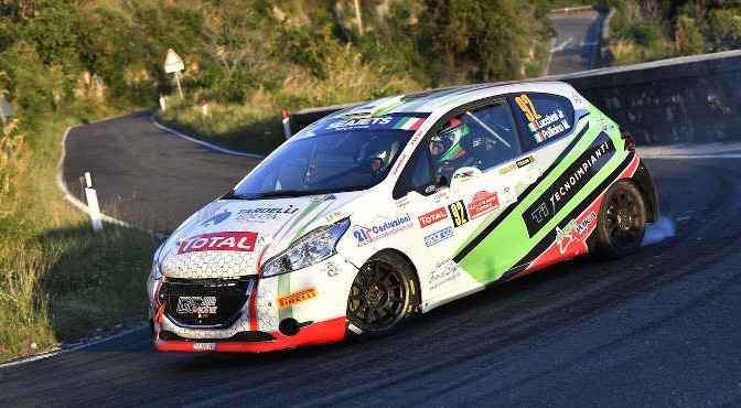 Cristopher Lucchesi Jr-Marco Pollicino, Peugeot 208 R2 #92