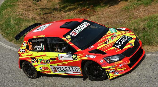 Luca Cantamessa, Lisa Bollito (Skoda Fabia R5 #16, Peletto Racing Team)