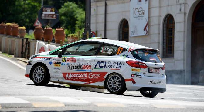 Andrea Mazzocchi, Silvia Gallotti (Ford Fiesta R2 #57, Leonessa Corse)