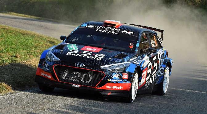 Breen Craig; Nagle Poul (Hyundai i20 Coupe R5)