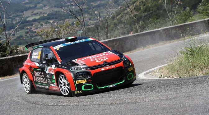 Antonio Rusce-Sauro Farnocchia, Citroen C3 R5 #30, X Race Sport