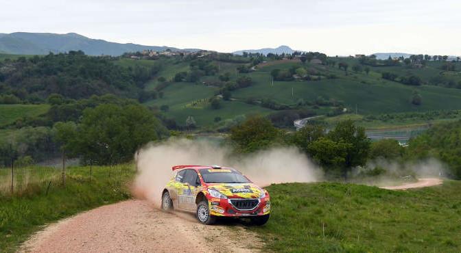 Paolo Andreucci, Rudy Briani (Peugeot 208 T16 R5 #2, Maranello Corse)