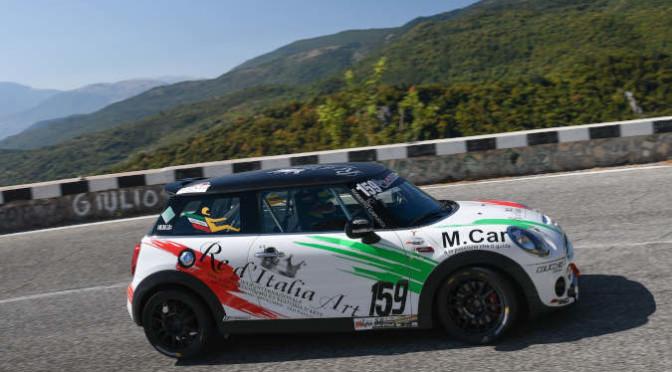 Giovanni Loffredo ( Scuderia Vesuvio, Mini Cooper JCW #159)