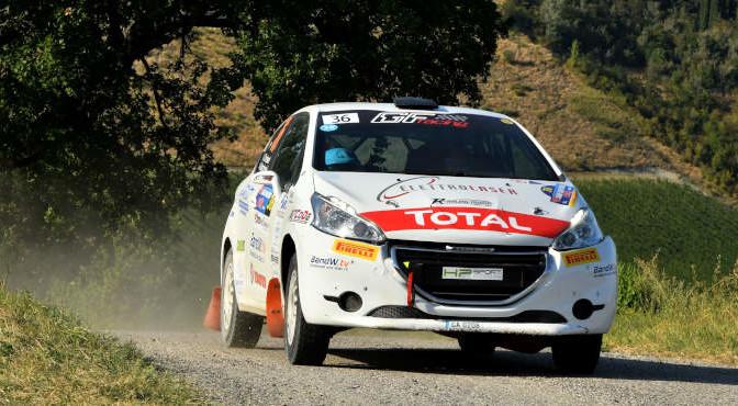 Trevisani Jacopo, Marchesini Andrea, Peugeot 208 R2B, #36, HP Sport, GF Racing