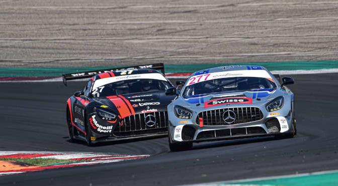 Magnoni Luca-De Luca Francesco, Mercedes AMG GT4 #277, Nova Race Events