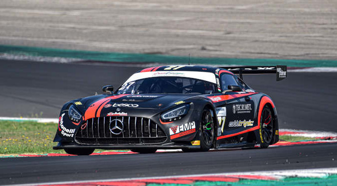 Ferrari Lorenzo-Linossi Francesca, Mercedes AMG GT3 #27, AKM Motorsport
