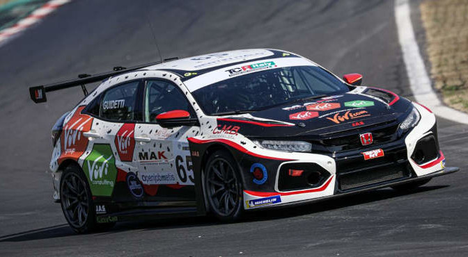 Guidetti Jacopo, Honda Civic FK7 TCR #65, MM Motorsport