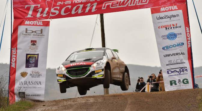 Paolo Andreucci, Anna Andreussi (Peugeot 208 T16 R5 #1, Freddiys Team)