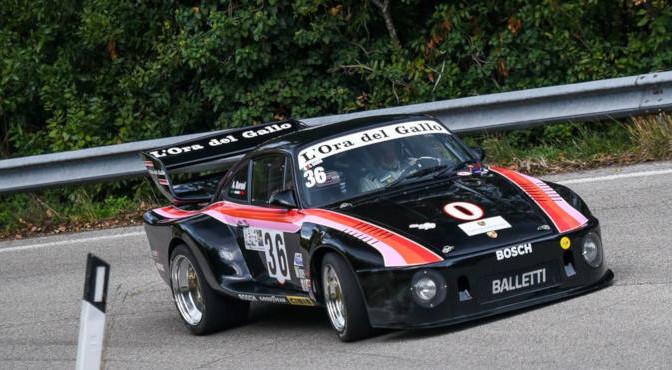 Andrea Baroni ( Porsche 911 SC #36), 3^ Coppa Faro Pesaro