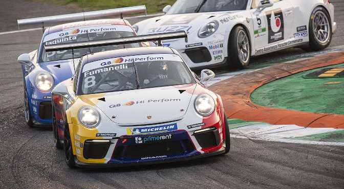 Porsche Carrera Cup Italia Round 11/12 - Day Two