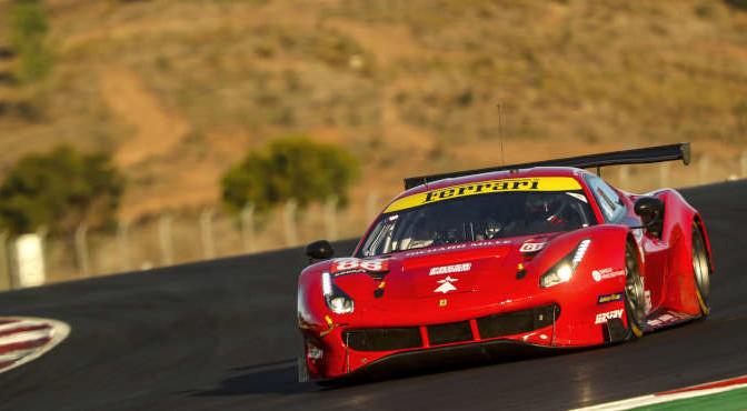 #88 Ferrari 488 GTE Evo / Francois Perrodo / Emmanuel Collard / Alessio Rovera