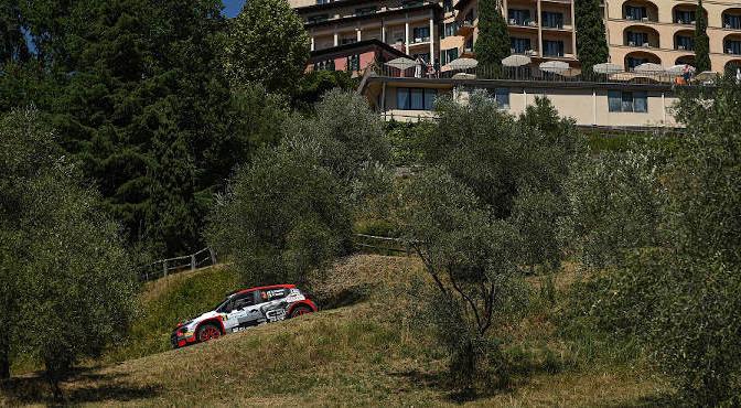 Crugnola Andrea-Ometto Pietro Elia, Citroen C3 R5 #3, FPF Sport