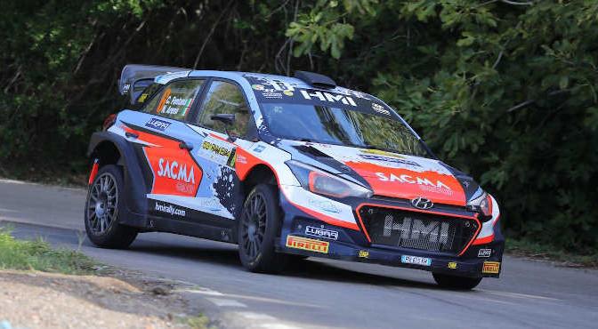 Fontana Corrado-Arena Nicola, Hyundai i20 WRC #6