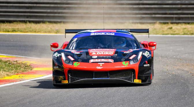 Matteo Greco-Fabrizio Crestani-Luca Filippi, Ferrari 488 Evo GT3 #3, Easy Race