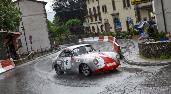 Rossi Vincenzo (Scuderia Etruria, Porsche 356 Sc #103)