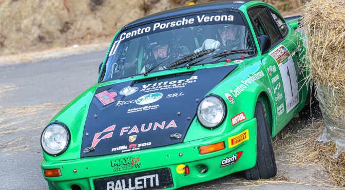 SALVINI ALBERTO - TAGLIAFERRI DAVIDE, PORSCHE 911 RS #1