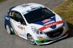 Ciuffi - Gonella su Peugeot è top al 7°Rally di Roma Capitale